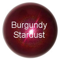 Burgundy Stainless Steel Gazing Globe