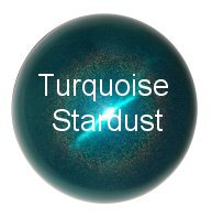 Turquoise Stainless Steel Gazing Globe