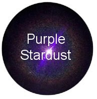 Purple Stardust Stainless Steel Gazing Globe