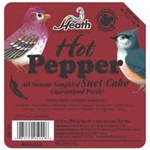 Animal Attractant: Suet Cake - Hot Pepper - Wild Bird Seed & Feed
