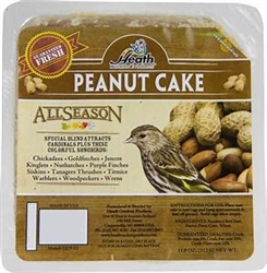 Animal Attractant: Suet Cake - Peanut Cake - Wild Bird Seed & Feed