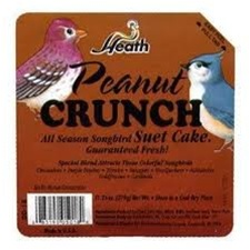 Animal Attractant: Suet Cake - Peanut - Wild Bird Seed & Feed