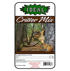 Wild Critter & Bird Seed Attractant for Squirrels, Blue Jays & More