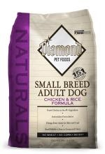 Diamond Naturals Small Breed Adult Chicken & Rice Dog Food