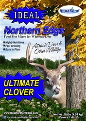Food Plot & Wildlife Habitat Seed Mix - Ultimate Clover (1 acre)