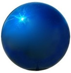 Buy Premium Quality Gazing Globe - Blue Stainless Steel Garden Ball