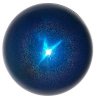 Gazing Globe - Blue Stardust Stainless Steel Garden Ball